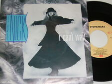 "7"" - Stevie Nicks I can´t wait & Rock a little - MINT 1985 # 5776"