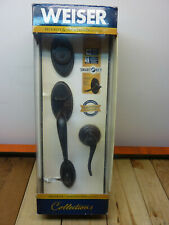 Weiser Collections 9GCL94710-021, Shelburne Handle & Lock Set, Venetian Bronze