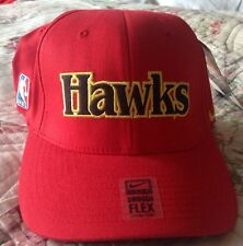 Nike Throwback 1988 Atlanta Hawks NBA Rewind Flex Fit Cap Hat NWT