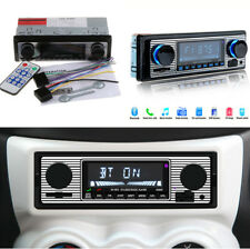 HD Car Stereo Bluetooth MP3 FM Player 4 Channel Audio Output Dual Knob SD Card
