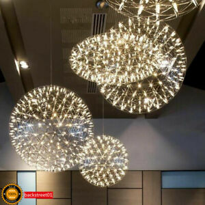 LED Ball Rainmond Modern Pendant Lamp Firework Chandelier Ceiling Light Fixtures