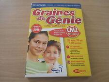 JEU DVD-ROM PC - GRAINES DE GENIE CM2 / 10-11 ANS