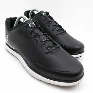 Mens Under Armour AG Medal SL Golf Shoes Black 3023188-001 New
