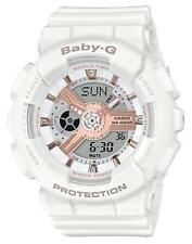CASIO BABY-G BA-110RG-7AJF White Women's Watch 2018 New in Box