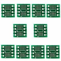 50Pcs SOP8/SSOP8/TSSOP8/SMD To DIP8 Adapter 0.65/1.27mm Board PCB T9Y7 Z9O9 P8P0