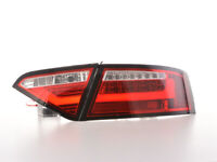 LED Rückleuchten Lightbar Audi A5 8T Coupe/Sportback Bj. 07-11 rot/klar