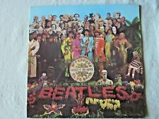 THE BEATLES Sgt. Pepper's - Original AUS 1967 Gatefold Stereo Banner LP + cutout