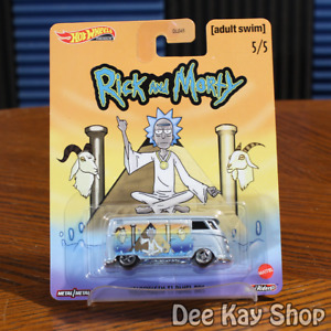 Volkswagen T1 Panel Bus - Rick and Morty - Hot Wheels Premium Pop Culture (2020)