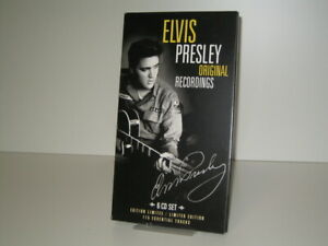 6 CD Box Elvis Presley Original Recordings (155 Essential Tracks) (2009 mcps)
