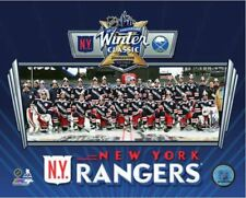 New York NY Rangers Team Photo 2018 NHL Winter Classic 8x10 Photo