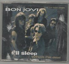 bon jovi -  i'll sleep when i am dead scare  cd single
