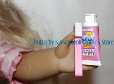 Pink Toothbrush + Toothpaste 18 in Doll Clothes Accessory Fits American Girl