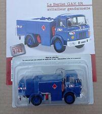 n° 77 BERLIET GAK 5R Camion Avitailleur Gendarmerie 1/43 Neuf  Boite