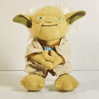 Star Wars 9 Inch Talking Yoda Plush Toy Lucasfilm - Tested & Works