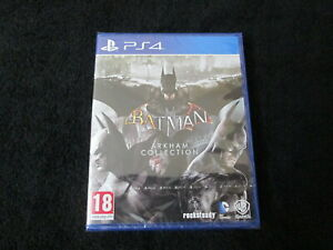 PS4 : BATMAN ARKHAM COLLECTION - Nuovo, ITA ! Comp. PS5 ! Asylum + City + Knight