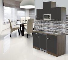 Mini Cucina Angolo Cottura Blocco 150 cm Rovere York Grigio Respekta