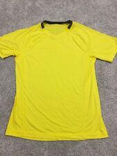 Lululemon Mens Yellow Short Sleeve Shirt