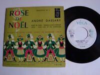 """ANDRE DASSARY: Rose de Noel (sélection N° 1)  EP 7"""" VEGA V 45 P 1962 FRANZ LEHAR"""