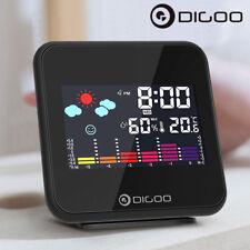 Digoo Mini Digital USB Wireless Weather Forecast Station Temperature+Alarm Clock