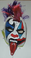 PSYCHO CLOWN SIGNED AUTO'D OFFICIAL MASK LUCHA LIBRE AAA IMPACT WRESTLING CHAMP