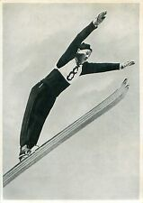 25. Birger Ruud Norway Ski jumping OLYMPIC GAMES GERMANY 1936 CARD