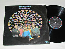 LOS CHACOS Volume 4 Des Andes a J.S. Bach LP Barclay Records World Folk VG/VG