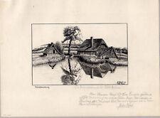 Bad Eilsen-DISEGNO A MOLLA-J. Karlsbad 1918 FERRO MARTELLO