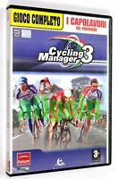 Gioco PC CD-ROM CYCLING MANAGER 3 Future Media BLE Cyanide 2003