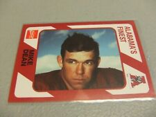 1989 Alabama's Finest #449 Mike Dean -Alabama Crimson Tide-