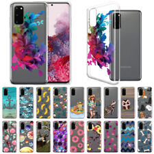 """For Samsung Galaxy S20 6.2"""" 2020 Transparent Crystal Clear TPU Case Skin Cover"""