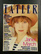 Tatler Magazine: The Countess of March and Kinrara, June 1993