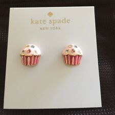 Kate Spade Take the Cake Magnolia Bakery Cupcake Earrings NWT So Cute!
