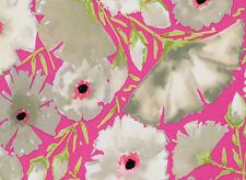 The Painted Garden Dena Designs Rose in Peacock Quilt Fabric Free Spirit  BTY