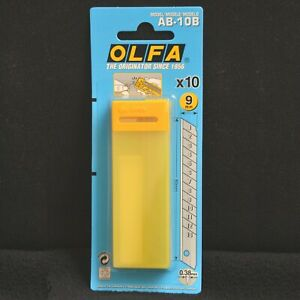 OLFA AB-10B Spares, 10 per Pack, FREE POSTAGE