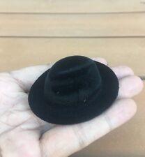 1/6 Hat Male Black Topper Cap Chapeau Model Fit 12inch Action Figure body Toy