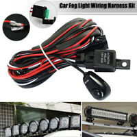 LED Work Light Bar Wiring Harness Remonte Control Switch Kit Offroad Car LampDRM