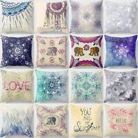 ALS_ Fashion Mandala Flower Throw Pillow Case Cushion Cover Sofa Home Decor Reli