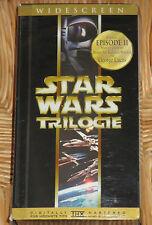 Star Wars IV, V, VI - VHS/SciFi/Harrison Ford/Mark Hamill/Carrie Fisher/FOX/BOX