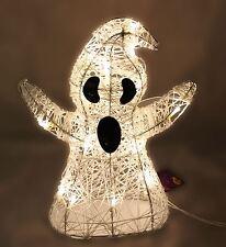 Light Up LED Halloween Decoration Ghost 36cm