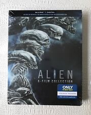 Alien 6 Film Collection Steelbook Blu-ray New Sealed Mint