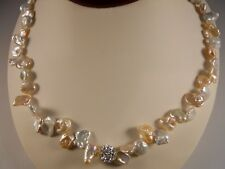 Freshwater Keishi Pearl Necklace With Silver Clasp