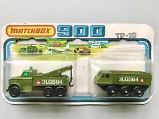 Matchbox Superfast 900 TP-16 Military Twin Pack Alvis Stalwart, Wreck Truck RARE