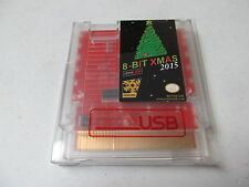8-BIT XMAS 2015 NES Christmas Nintendo game cartridge RetroUSB card new