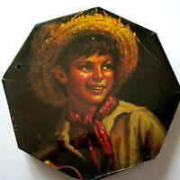 VTG Country Boy Puzzle Milton Bradley Devon 700 pc Octagonal 1966 Tovine Artist