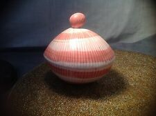 Vintage FITZ & FLOYD Peach Coquille Sea Shell Dish