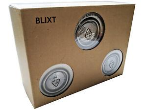 IKEA Blixt Recessed Lighting Nickel Plated Halogen 3 Light Set 200.954.98 New