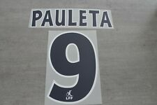 Flocage PAULETA n°9 PSG  patch shirt Paris Saint Germain maillot France Foot