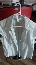 H&M Ladies Short Sleeves Shirt - Green - M