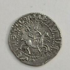 Crusader-era Silver Medieval Coin, Armenian Tram, Levon II, 1270-1289. VF