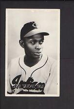1950's Post Card Leroy Satchel Paige Cleveland Indians